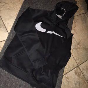 Black Nike Pullover Dri-Fit Hoodie